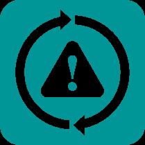 Авариен режим - Функцията позволява на устройството да работи дори когато един от сензорите аварира. В резултат, климатикът не изключва и работи, докато повредата не бъде отстранена.