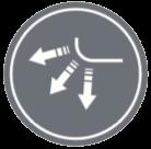 АВТОМАТИЧНИ КЛАПИ - Независимо от режима на работа, климатизаторът автоматично избира оптималния ъгъл.