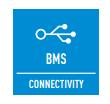 ЛЕСЕН КОНТРОЛ ЧРЕЗ BMS - Комуникационният порт е интегриран във вътрешното тяло и осигурява лесно свързване и контрол на климатика от дома или от системата за управление на сградата.
