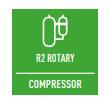 R2 РОТАЦИОНЕН КОМПРЕСОР - Компресорът R2 е проектиран да издържа на екстремни условия, като осигурява висока производителност и ефективност.