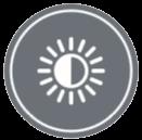 НАСТРОЙКА НА ЯРКОСТТА НА СВЕТЛИНИТЕ - Яркостта на светлинните индикатори може да се настрои, според желанието на клиента.