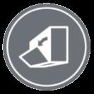 РАЗГЛОБЯЕМ ПАНЕЛ - Предният панел се отваря и затваря лесно и улеснява почистването на филтрите. Предният панел също така може лесно да се свали.