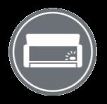 Резервен превключвател - уреда може да се управлява от On / Off бутоните на вътрешното тяло.