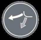 ВЕРТИКАЛНО ДВИЖЕНИЕ НА КЛАПИТЕ - Клапите на климатизатора могат да бъдат позиционирани в желаното положение, което варира от хоризонтално до вертикално.
